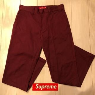 Supreme - 新品 supremeシュプリーム work pants