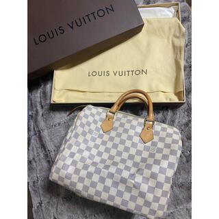LOUIS VUITTON - 【LOUIS VITTON】ルイヴィトン スピーディ30 ダミエアズール 美品