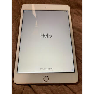 Apple - Apple iPad mini4 Gold Wi-Fi Cellular
