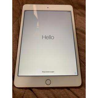 Apple - Apple iPad mini4 Gold Wi-Fi Cellular