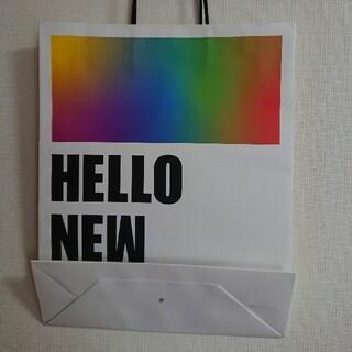 アラシ(嵐)の【新品未使用品】HELLO NEW DREAM 紙袋(アイドルグッズ)