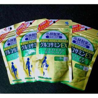 小林製薬 - 小林製薬 グルコサミンEX (30日分×4袋)