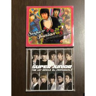 スーパージュニア(SUPER JUNIOR)のSUPER JUNIOR ☆TWINS ☆BONAMANA  CD2枚セット(K-POP/アジア)