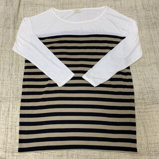 ダブルクローゼット(w closet)の☆★新品未使用★☆w closet ボーダービッグTシャツ(Tシャツ(長袖/七分))