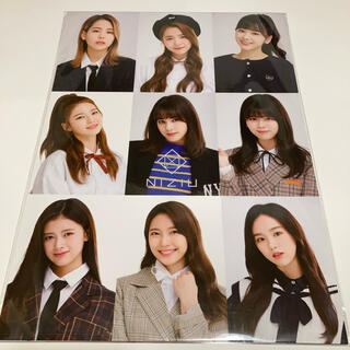 在庫処分❣️niziu ポスター&シールセット(K-POP/アジア)