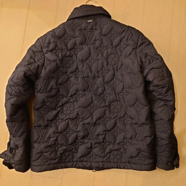 LOUIS VUITTON(ルイヴィトン)のルイヴィトン モノグラムパデッドライトブルゾン 48 ダウンジャケット メンズのジャケット/アウター(ダウンジャケット)の商品写真