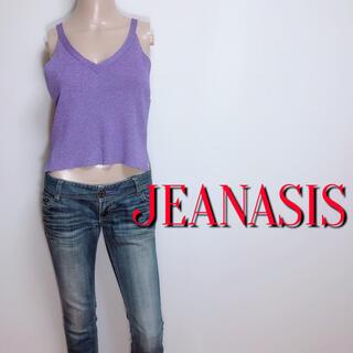 JEANASIS - 必需品♪ジーナシス ラメニットキャミソール♡デュラス ジルスチュアート