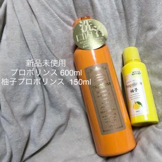 新品未使用 プロポリンス 600ml 柚子プロポリンス 150ml 計2本セット(マウスウォッシュ/スプレー)