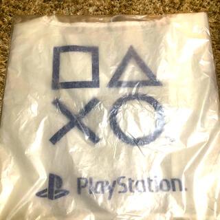 プレイステーション(PlayStation)のAmazon限定 PlayStation エコバック 非売品 新品未使用(エコバッグ)