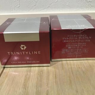 タイショウセイヤク(大正製薬)の【2個】トリニティーライン ジェルクリーム プレミアム(50g)(オールインワン化粧品)