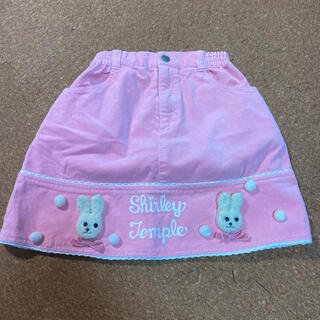 シャーリーテンプル(Shirley Temple)のシャーリーテンプル  立体うさぎ ピンク スカート 120(スカート)