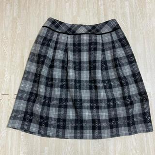 ギャラリービスコンティ(GALLERY VISCONTI)のチェックスカート(ひざ丈スカート)