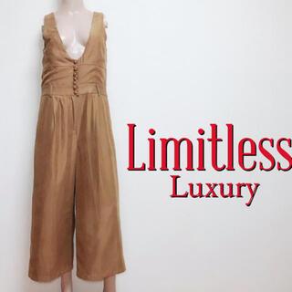 LIMITLESS LUXURY - 試着のみ♪リミットレス ゆったりワイド オールインワン♡アパルトモン イエナ