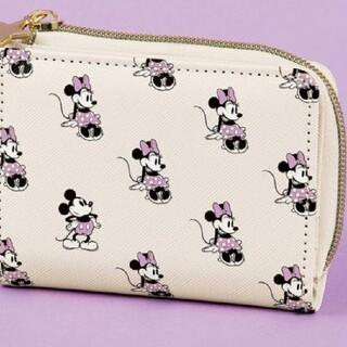 Disney - スイート付録ミッキーミニーコンパクト財布