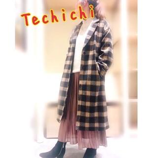 テチチ(Techichi)のテチチ チェック柄 ロングコート チェスターコート(ロングコート)