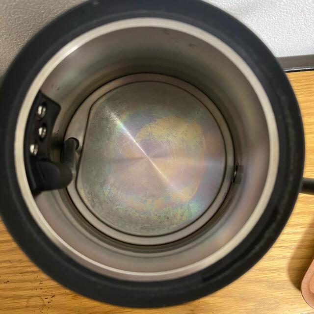 BALMUDA(バルミューダ)のバルミューダ ケトル The Pot ブラック スマホ/家電/カメラの生活家電(電気ケトル)の商品写真