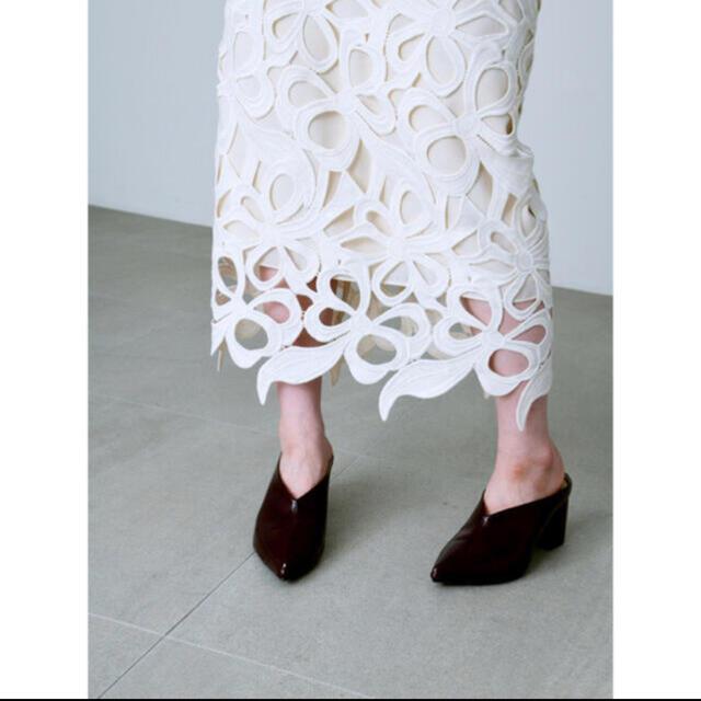 FRAY I.D(フレイアイディー)のCELFORD 限定リバイバルリボンレーススカート レディースのスカート(ロングスカート)の商品写真