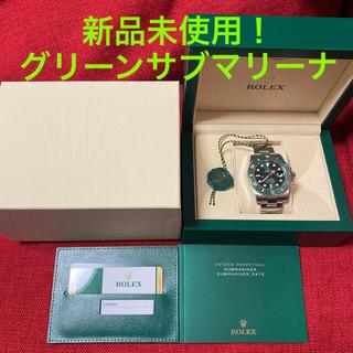 ROLEX - 【新品未使用】ロレックス グリーンサブマリーナ 116610LV