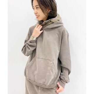 DEUXIEME CLASSE - REMI RELIEFレミリリーフ DOWN FOODY PARKA BROWN