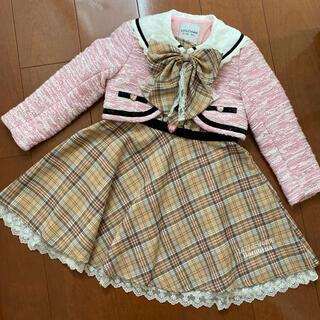 キャサリンコテージ(Catherine Cottage)のリズリサ ツイード チェック スーツ (ドレス/フォーマル)