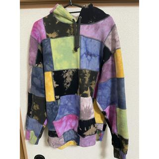 シュプリーム(Supreme)のPatchwork Tie Dye Hooded Sweatshirt(パーカー)