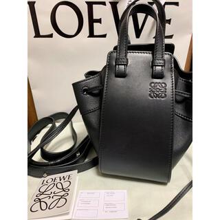 LOEWE - LOEWE ロエベ ハンモック ミニ 新品未使用 バッグ ブラック 黒 人気色