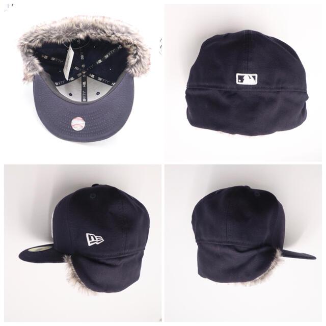 NEW ERA(ニューエラー)の新品 ニューエラ ファー付き キャップ CAP ヤンキース NV newera メンズの帽子(キャップ)の商品写真