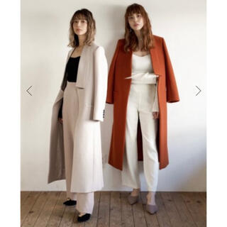 ZARA - MARQUE import *  Wool Pencil Long Coat