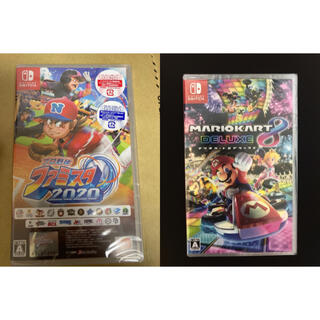 ニンテンドウ(任天堂)のマリオカート8 ファミスタ2020 (家庭用ゲームソフト)
