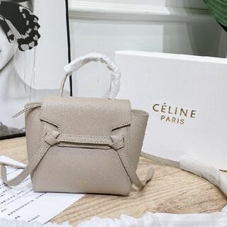 celine - celine   ショッパー バッグ ★ベージュ
