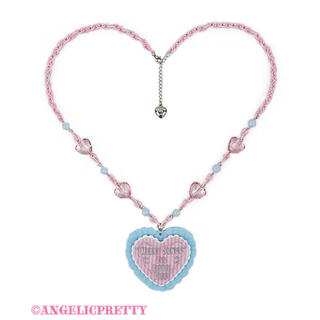 Angelic Pretty - MELODY TOYSハートネックレス