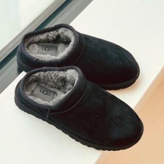 フレームワーク(FRAMeWORK)の♦︎新品未使用♦︎UGG FRAMeWORK♦︎クラシックスリッパ24㎝♦︎黒(ブーツ)
