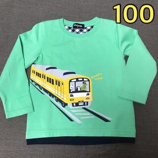 kladskap - クレードスコープ 電車Tシャツ 100