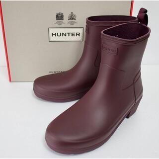 ハンター(HUNTER)の定価18000 新品 本物 HUNTER 靴 ブーツ JP24 123(レインブーツ/長靴)