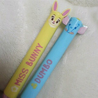 ディズニー(Disney)の2色ボールペン 2本セット(ペン/マーカー)