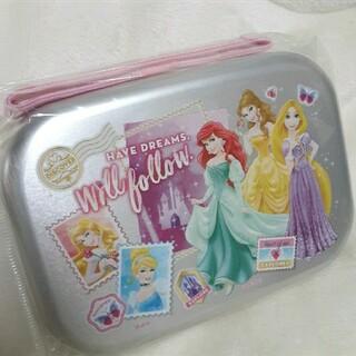 ディズニー(Disney)のディズニープリンセスアルミ弁当箱(ランチボックス)(弁当用品)