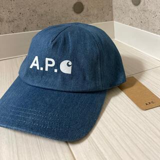 A.P.C - 【新品】アーペーセー カーハート キャップ デニム キャップ 帽子
