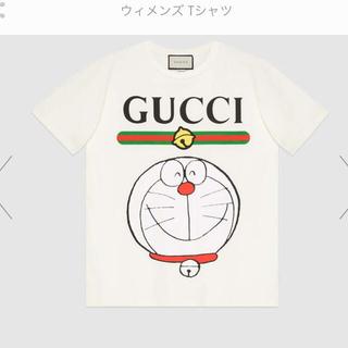 グッチ(Gucci)のXS 希少サイズ グッチ ドラえもん gucci tee tシャツ 新品ロゴドン(Tシャツ(半袖/袖なし))