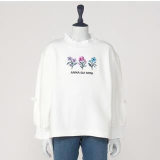 アナスイミニ(ANNA SUI mini)のANNA SUImini 140【新品】♡花刺繍♡(Tシャツ/カットソー)