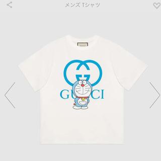 グッチ(Gucci)の白XS tee tシャツ グッチ ドラえもん gucci 新品 国内正規品(Tシャツ/カットソー(半袖/袖なし))