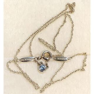 ティファニー(Tiffany & Co.)の正規品❣️ティファニー925 バイザヤード アクアマリン ネックレス(ネックレス)