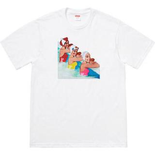 シュプリーム(Supreme)のsupreme swimmers tee (Tシャツ/カットソー(半袖/袖なし))