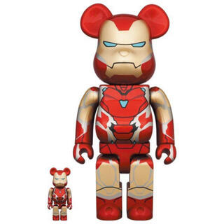 BE@RBRICK IRON MAN MARK 85 100% & 400%(その他)