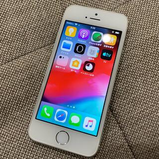 アイフォーン(iPhone)のiPhone5s 16GB softbank シルバー バッテリー良好(スマートフォン本体)