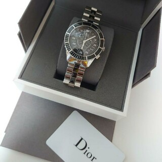 Christian Dior - Dior Homme 腕時計クリスタルクロノグラフChristianDior