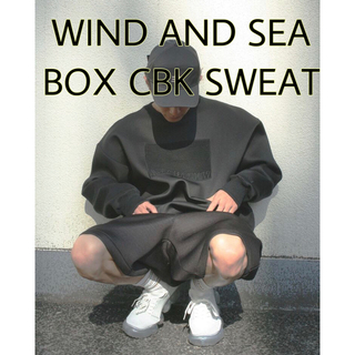 【新品未使用】 WDS BOX CBK SWEAT TOPS S