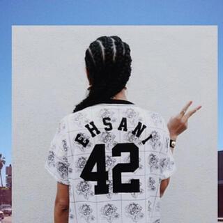ローズバッド(ROSE BUD)のMELODY EHSANI バラTシャツ42BLACK LIVES MATTER(Tシャツ/カットソー(半袖/袖なし))