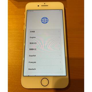 アイフォーン(iPhone)のiPhone 8 Gold 64 GB SIMフリー(スマートフォン本体)