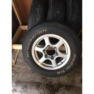 ブリヂストン(BRIDGESTONE)のアルミホイール  タイヤセット(※取りに来れる方限定)(タイヤ・ホイールセット)