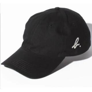 agnes b. - アニエスベー ロゴ キャップ b. 帽子 男女兼用 ブラック